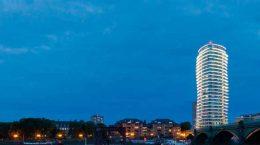 В Лондоне построена танцующая башня от Patel Taylor | фото