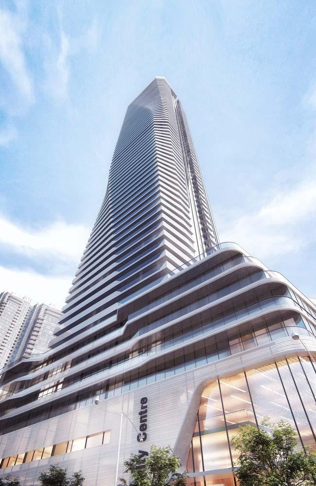 Небоскреб в Торонто от Pinnacle International