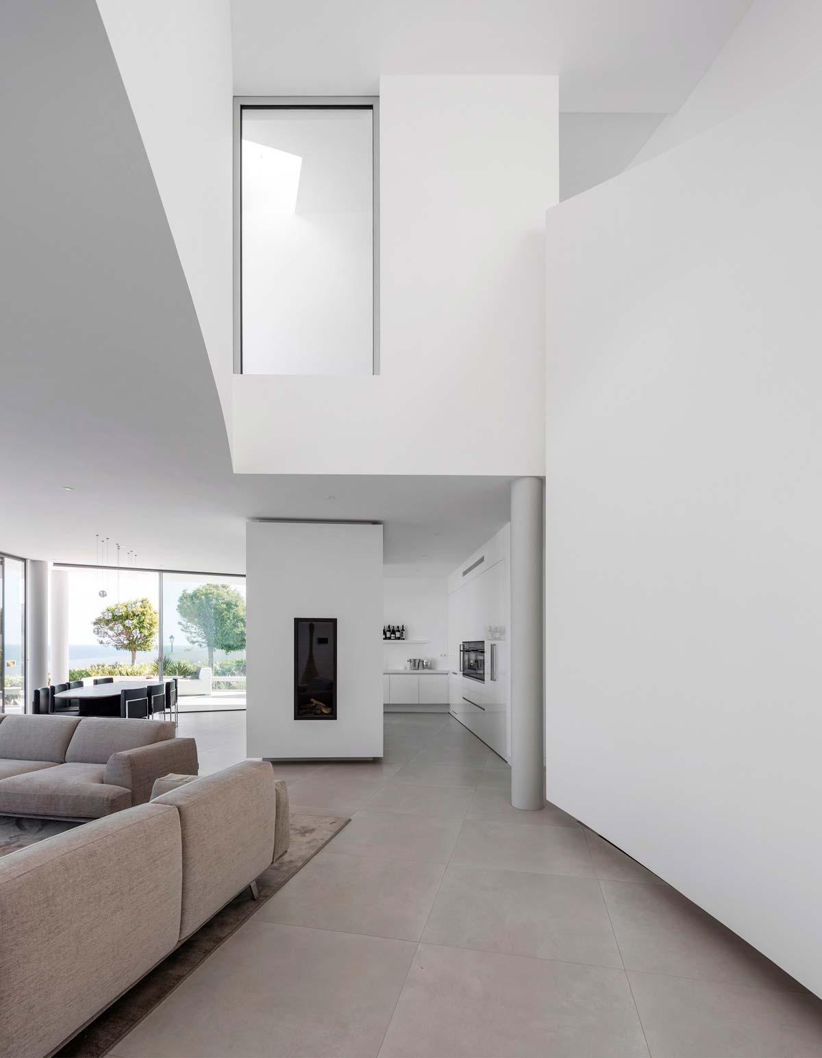 Дизайн интерьера в стиле модерн виллы в Португалии