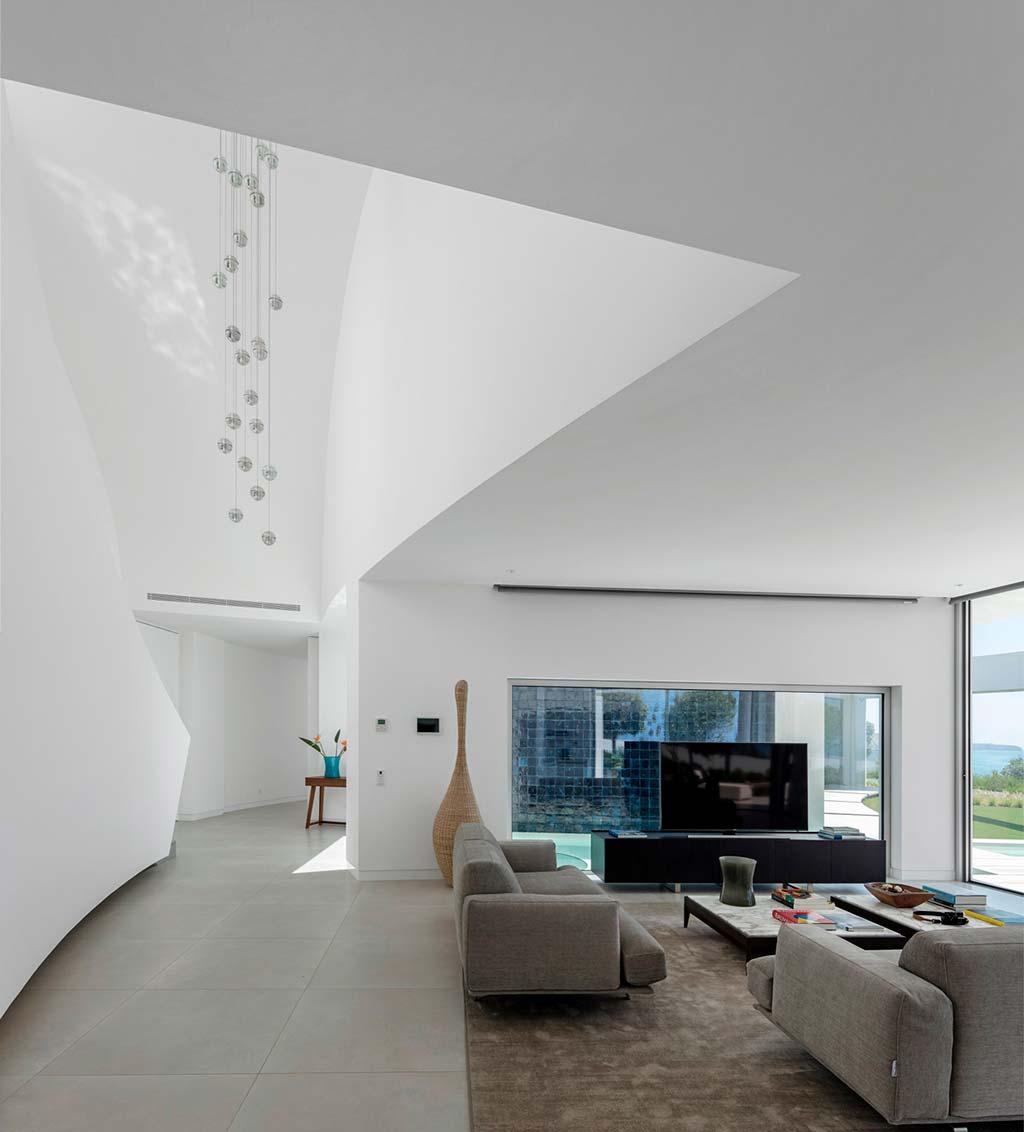 Интерьер в стиле модерн виллы в Португалии