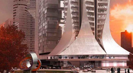 Бюро Захи Хадид начало строительство новой башни в Мехико