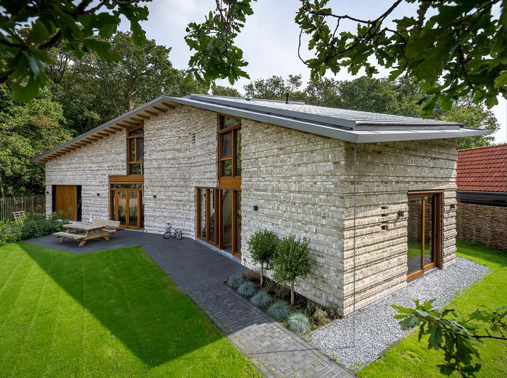 Загородный дом в стиле минимализм от Moke Architecten