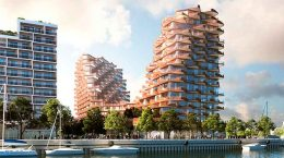 3XN построит элитный ЖК на берегу озера в Торонто | фото