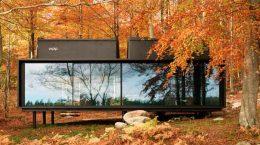 Мини-отель дом в шведском лесу Vipp Shelter | фото