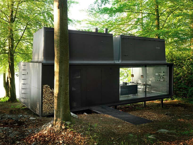 Дом у озера Иммельн в Швеции Vipp Shelter