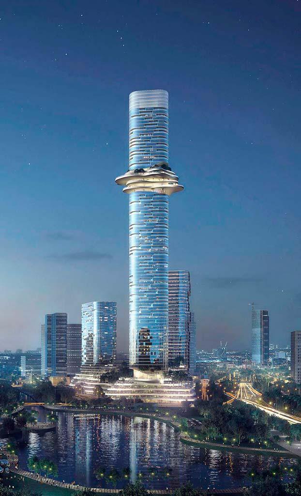 Башня высотой 333 метра в Хошимине, Вьетнам