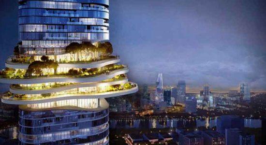 Ole Scheeren построит во Вьетнаме небоскреб Empire City