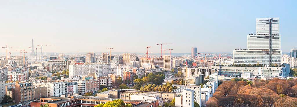 Новый«Трибунал де Пари» в Париже от Renzo Piano