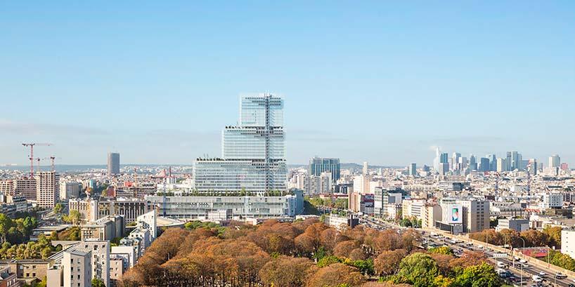Новое здание суда в Париже от Renzo Piano