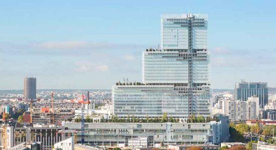 В Париже построено новое здание суда от Ренцо Пиано | фото