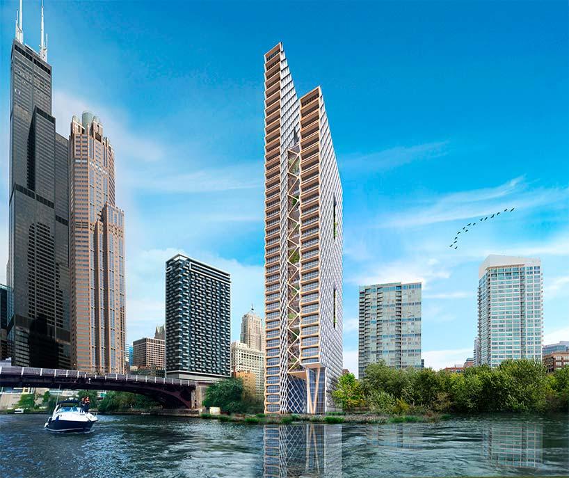 The River Beech Tower: самая высокая деревянная башня в мире