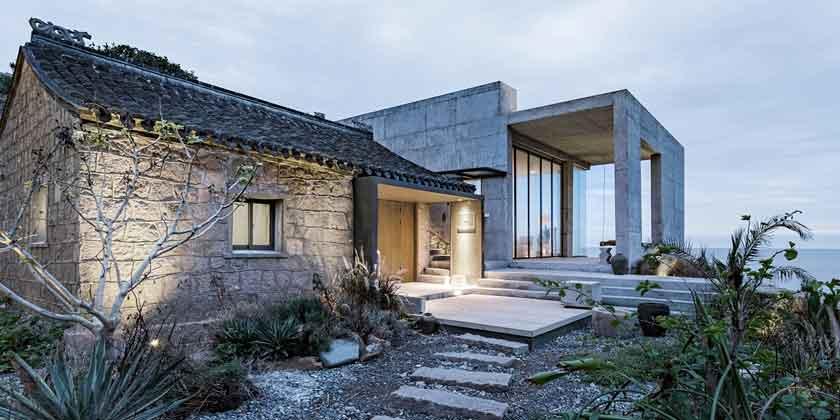 Современный дом из руин в Китае от Evolution Design | фото