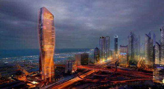 UNStudio построит в Дубае новую супервысотку высотой 300-м