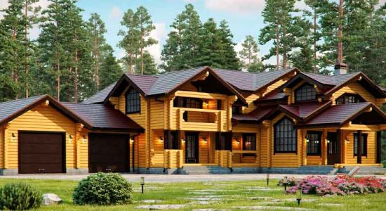«БрусЦентр»: деревянные дома под ключ по всей России