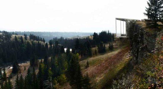 Дом в отвесной скале по проекту Андо Вассилиу | фото