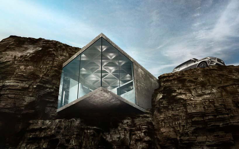 Дом в скале Maralah в канадской провинции Альберта