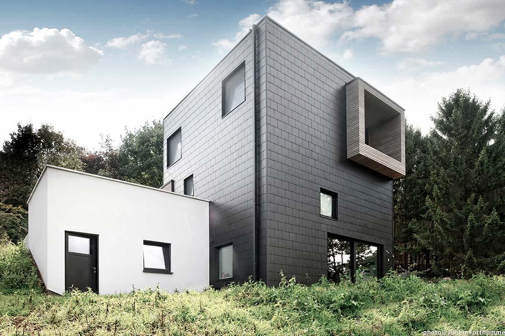 Дом в урбанистическом стиле от URBAN architectes