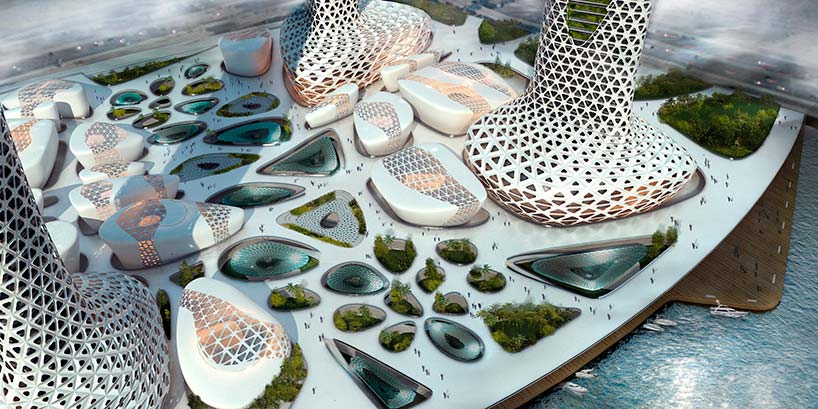 Symbiotic Towers для Дубая от Amorphoustudio