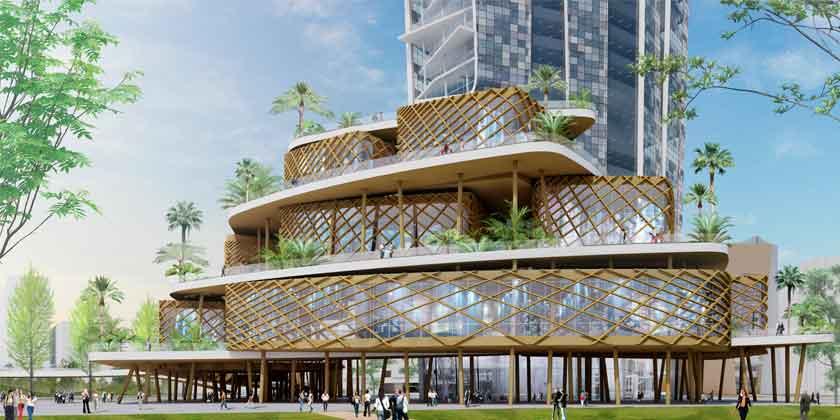 Элизабет де Портзампарк построит новый небоскреб на Тайване