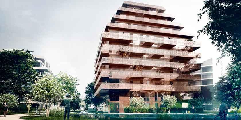 Reiulf Ramstad Architects построит элитный ЖК в Норвегии | фото