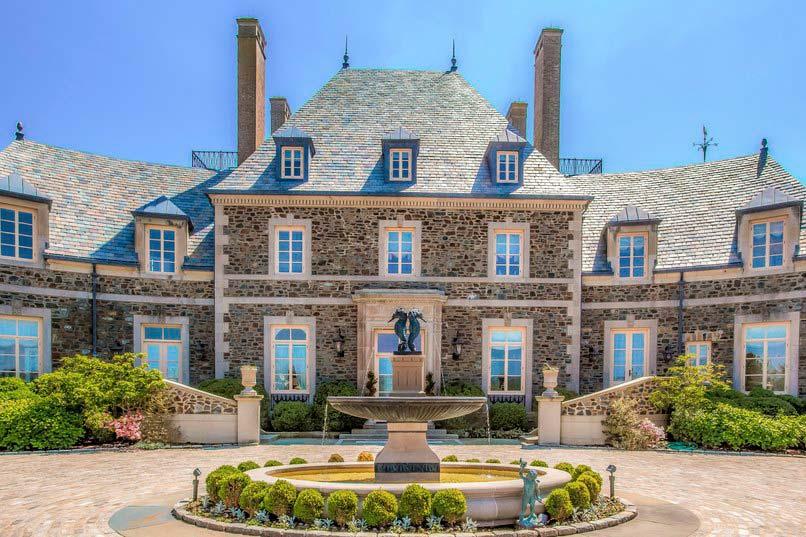 Новый дом Джея Лено в штате Род-Айленд