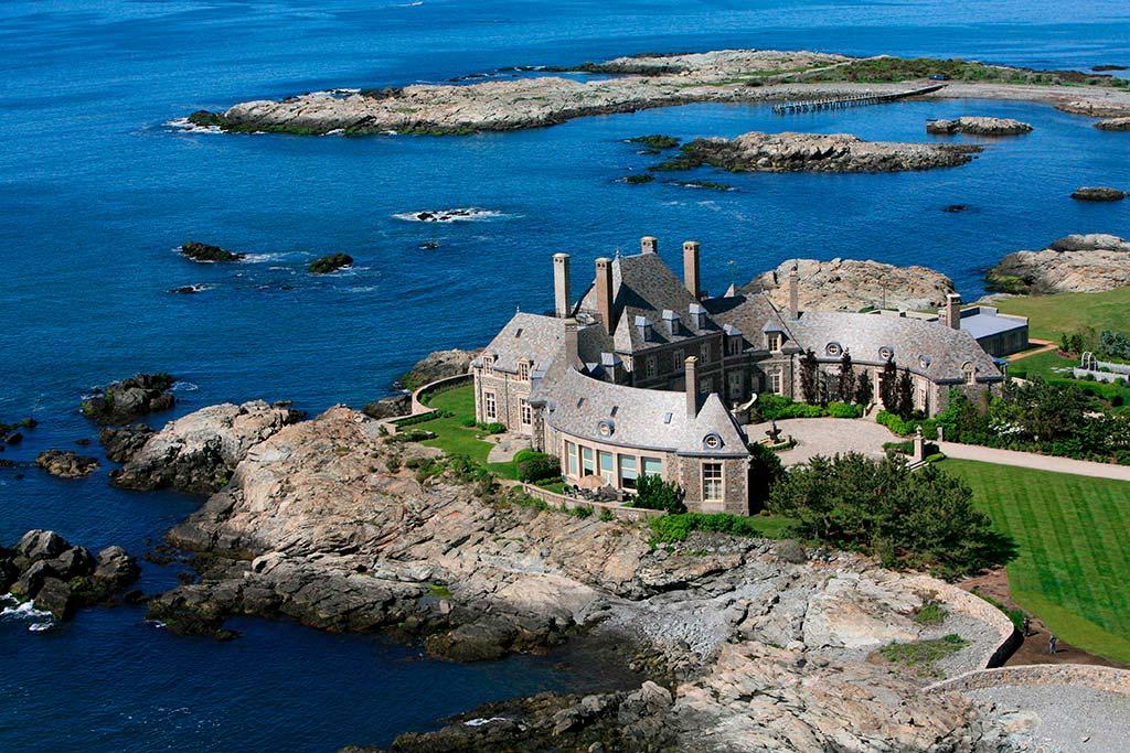 Замок на берегу Атлантического океана актера Джея Лено