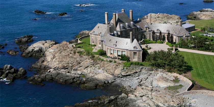 Актер Джей Лено купил замок у океана в США | фото и цена
