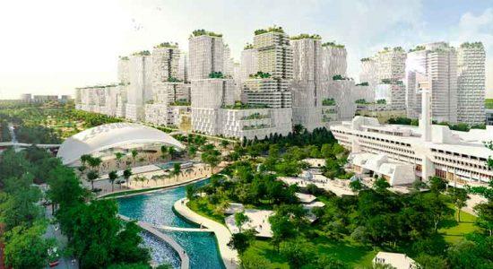 KCAP строит крупный бизнес-кластер JLD в Сингапуре