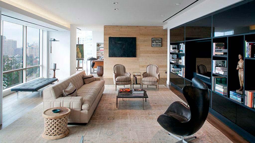 Дизайн интерьера квартиры Эллен Дедженерес