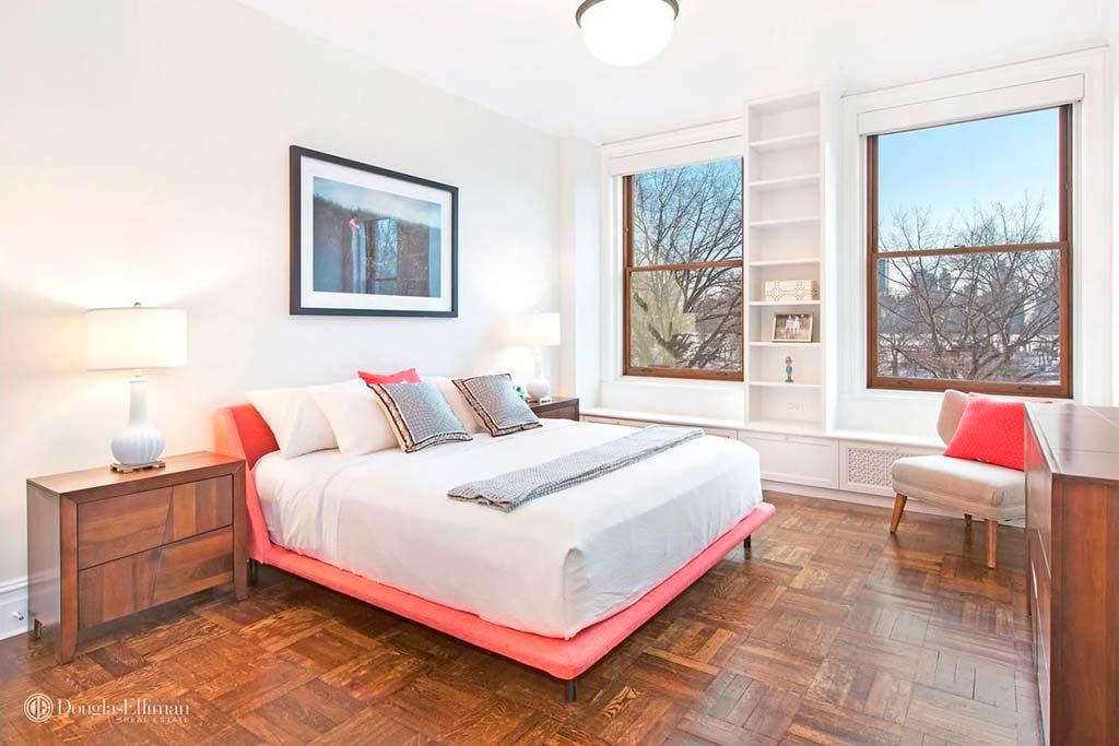 Спальня с видом на Центральный Парк