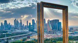 В Дубае построен небоскреб-рамка. Крупнейший в мире | фото