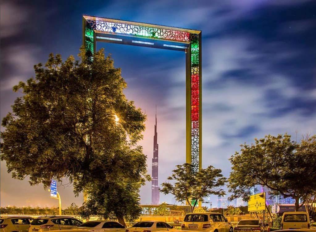 Самый большой небоскреб-рамка в мире. Дубай