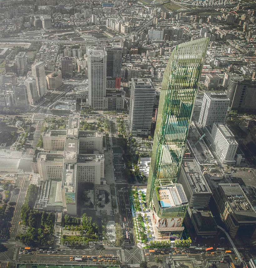 Новая 54-этажная башня в центре Тайбэя
