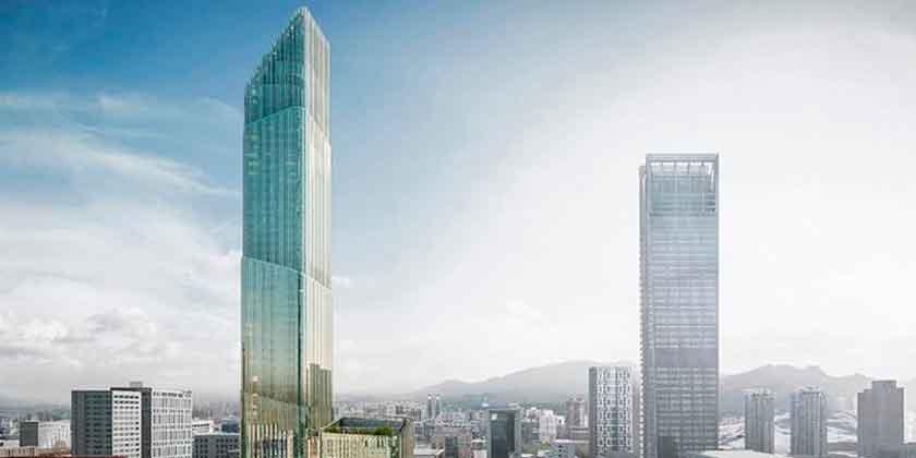 В Тайбэе построят новый небоскреб высотой 280 метров | фото