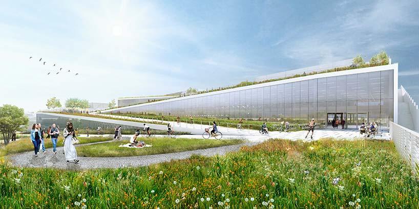 Новый кампус Googleplex в Саннивейле. Проект от BIG