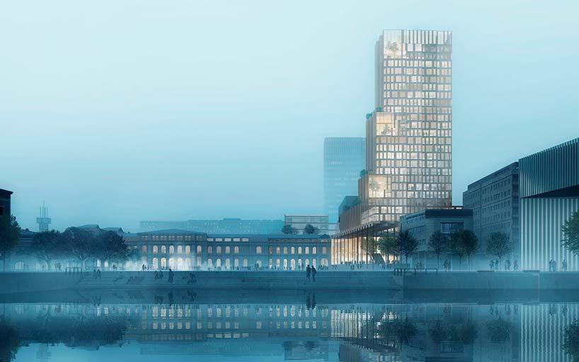 Новый небоскреб в Осло от Reiulf Ramstad Architects