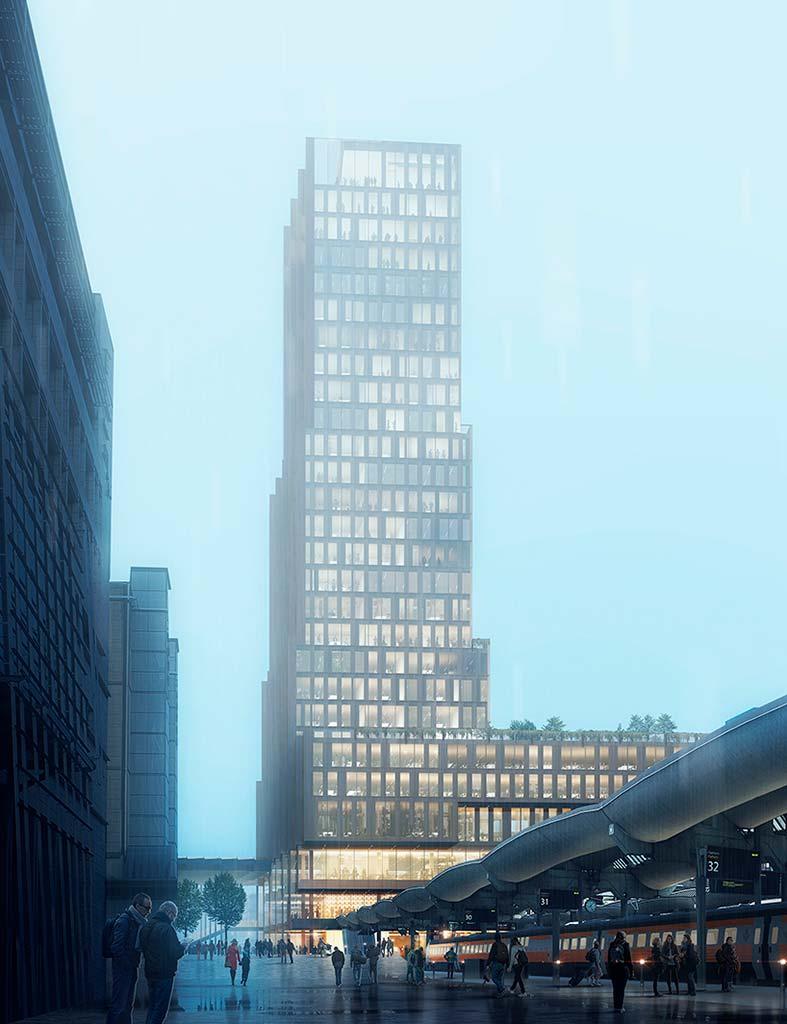 Башня в Осло от Reiulf Ramstad Architects