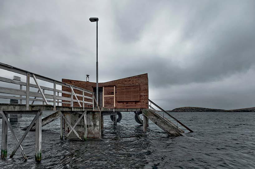 Причал в Норвежском море