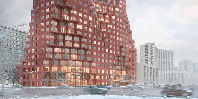 MVRDV построит символические ворота в Москву | фото