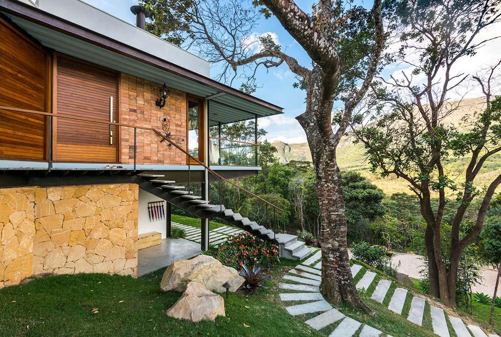 Дом с видом на национальный парк Шапада-Диамантина