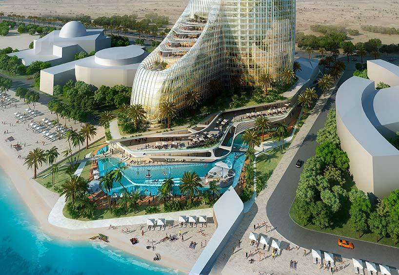 Небоскреб с 14-этажным атриумом в ОАЭ. Проект AS+R