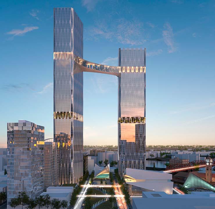 Новые небоскрёбы для Портленда. Проект William / Kaven