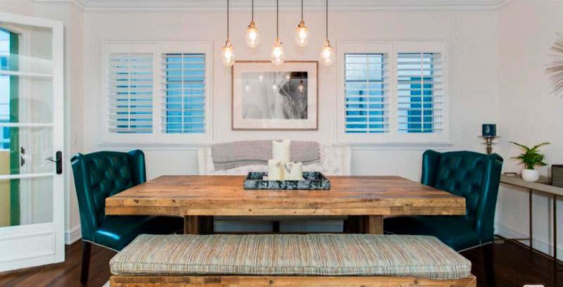 Дизайн домашней столовой