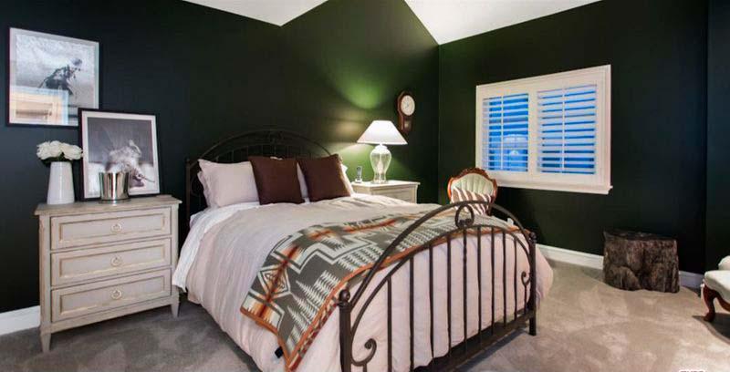 Спальня в доме актрисы Кэти Сакхофф