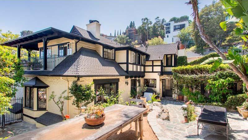 Дом модели Рэйчел Хантер на бульваре Сансет, Лос-Анджелес