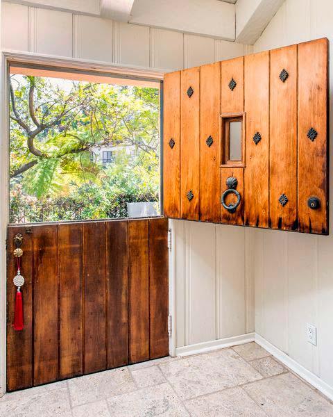 Кантри дизайн дверей