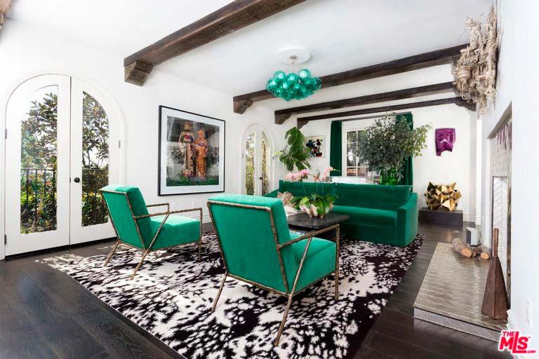 Дизайн интерьера дома Ашера в Голливуде