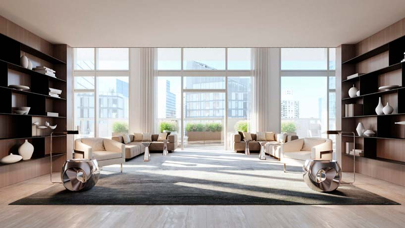Дизайн элитной квартиры от Groves & Co