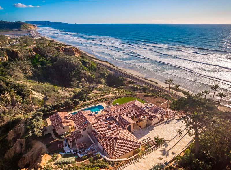 Самая дорогая вилла в Сан-Диего на берегу океана