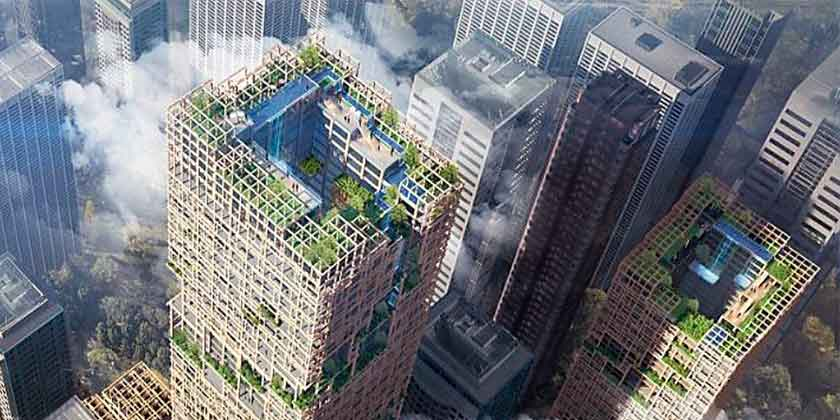 В Токио построят самый высокий деревянный небоскреб мира